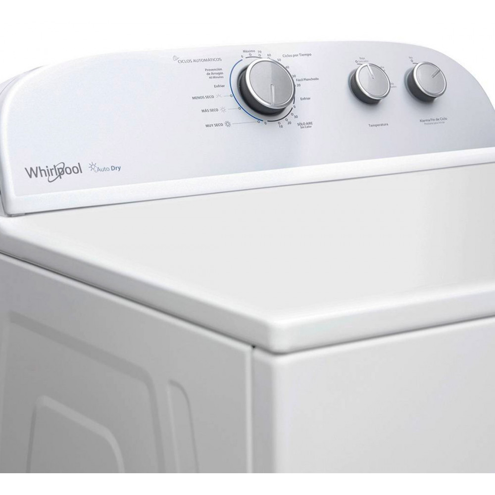 Secadora Whirlpool Excel Gas Carga Frontal Autodry 39 Lbs
