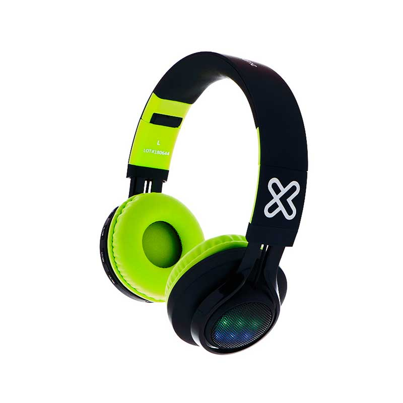 Audifonos Klip Xtreme Bluetooth tipo Headset Blast / LED Multicolor