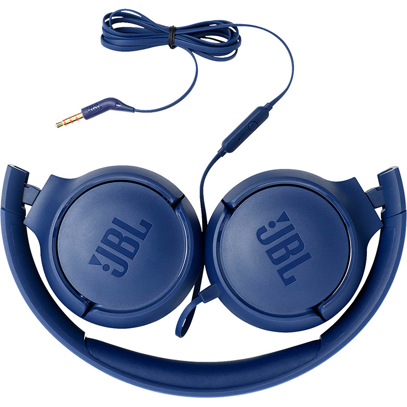 Audifonos JBL 3.5mm tipo Headset Tune 500 Azules