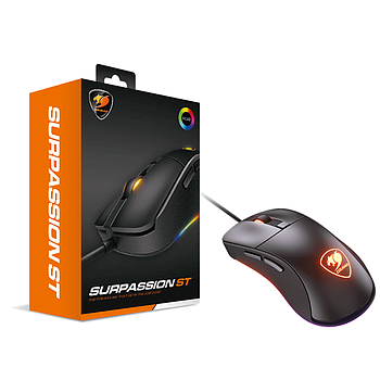 Mouse Óptico Gaming Cougar SURPASSION ST 3200DPI